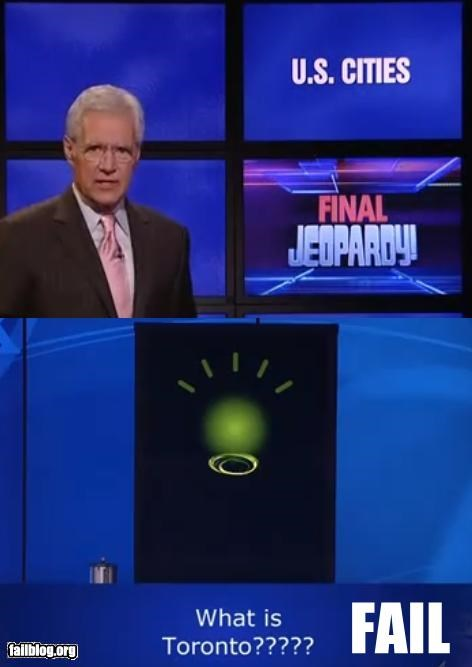 computers failboat final question g rated jeopardy robots television toronto is almost american