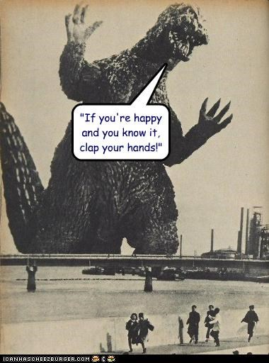 funny godzilla Photo photograph - 4479030016
