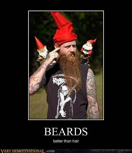 beard hair dummy gnomes