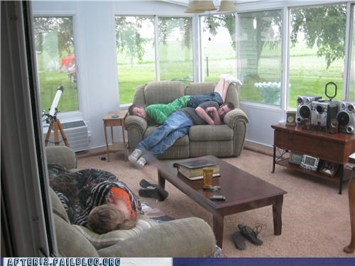 brospoon couch drunk loveseat passed out