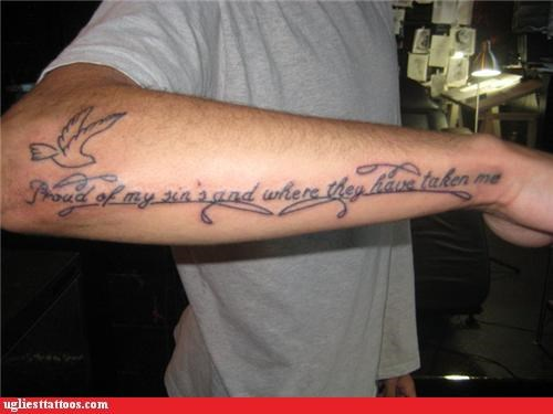 grammar text tattoos funny