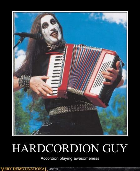 HARDCORDION GUY Accordion playing awesomeness