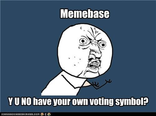 cheezburgers voting Y U No Guy - 4480100864