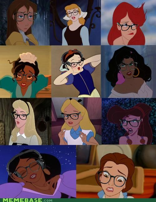 disney,disney hipsters,hipster-disney-friends,hipsters,hot chicks,keha