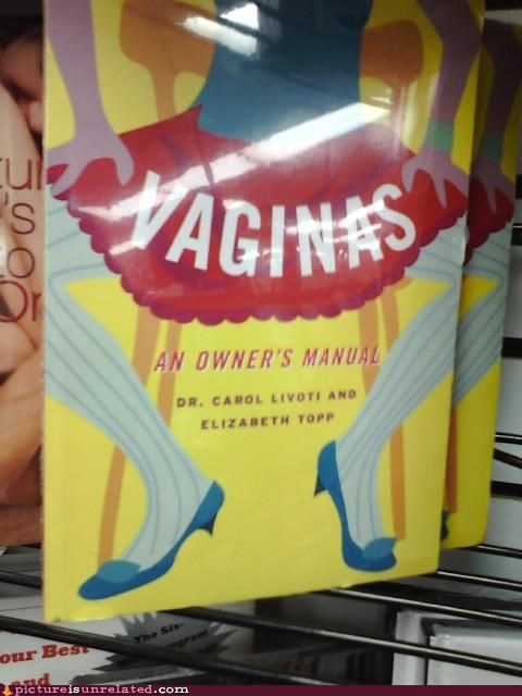 owners-manual,reading,vagina