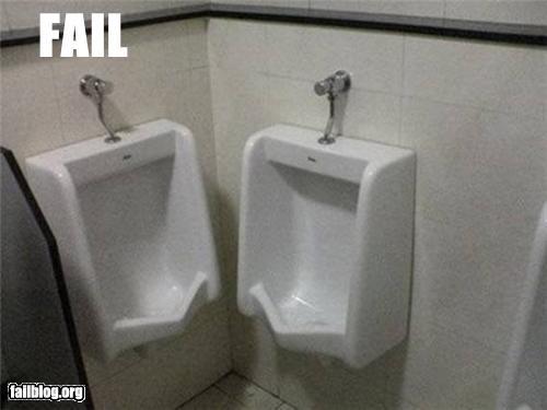 bathrooms failboat g rated gross poor design urinal - 4480537088