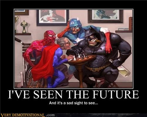 old guys,future,superheroes