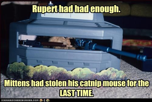 caption captioned cat catnip enough fed up last last time mouse revenge stolen time toy upset - 4481276160