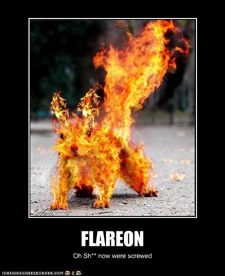 FLAREON Oh Sh** now were screwed