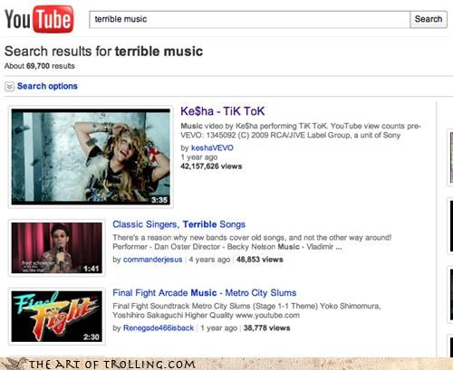 kesha Music terrible youtube - 4481531904
