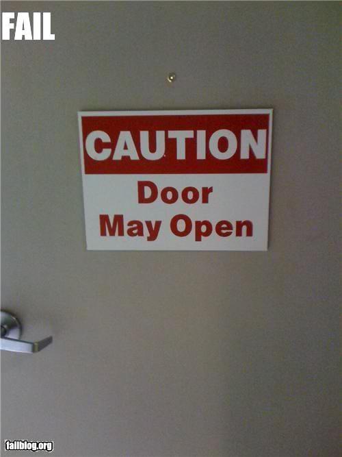 Caution fail
