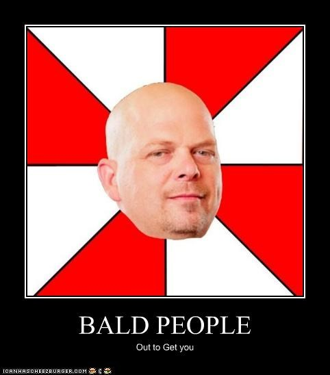 BALD PEOPLE Out to Get you