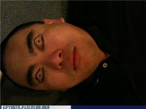 asian,marker,passed out,racist,sharpie