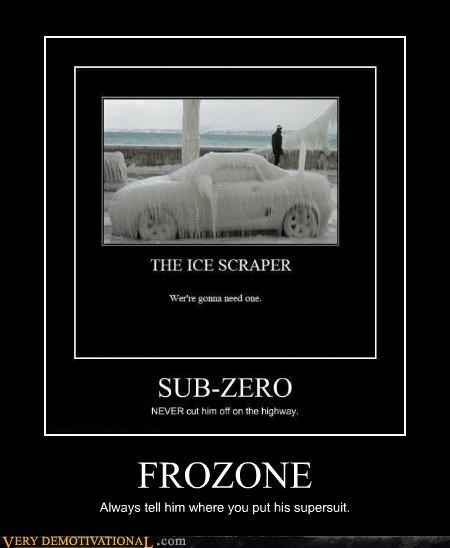 car incredible frozone ice - 4483182080