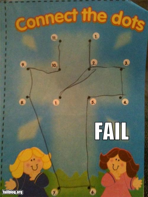 childrens connect the dots drawings failboat g rated poor planning - 4483438848