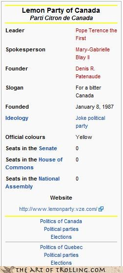 Canada,lemon party