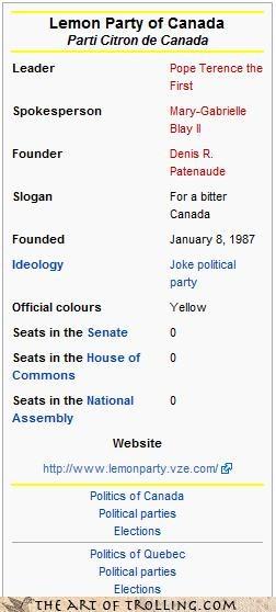 Canada lemon party - 4483624704