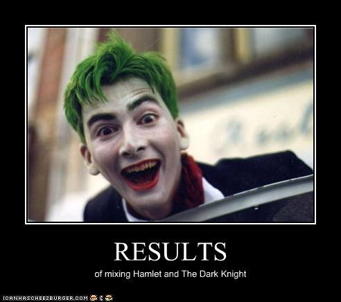 actor celeb David Tennant demotivational funny sci fi the joker - 4483777536