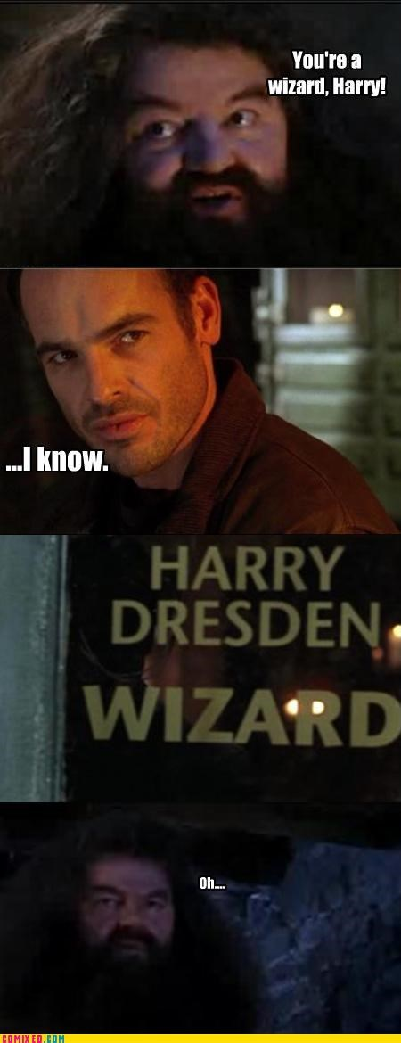 dresden files,harry dresden,Harry Potter,magic,the dark arts,TV,wizards