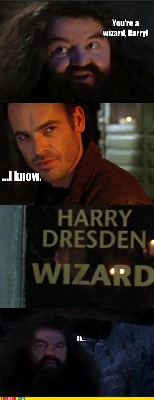 Harry Potter magic TV wizards - 4483880448
