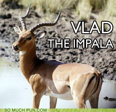 impala,impaler,literalism,name,off-rhyme,similar sounding,vlad