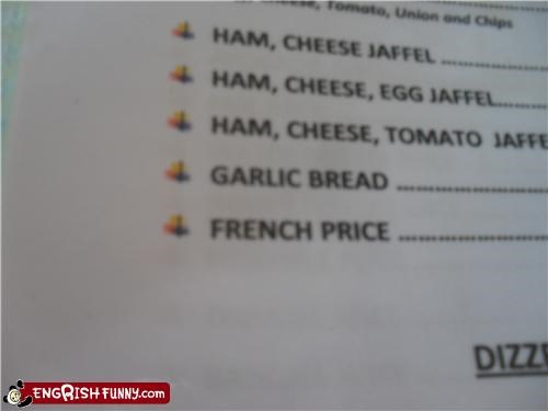 french,menu