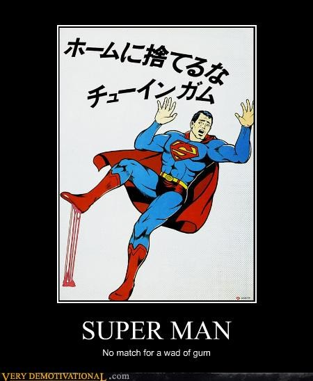 gum Japan scary superman wtf - 4484418048