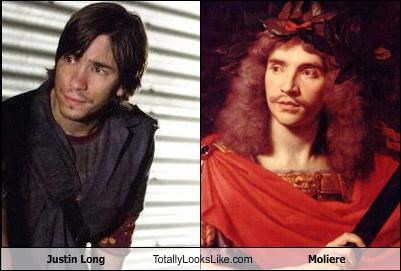 Justin Long Totally Looks Like Molièere