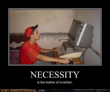 computer necessity typewriter - 4484459776