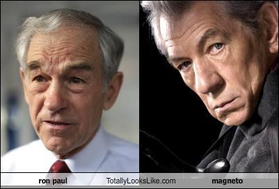 actor ian mckellen Magneto politician Ron Paul Sir Ian McKellen
