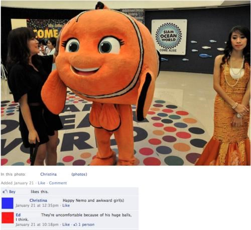 cosplay finding nemo fishy costume - 4485278976