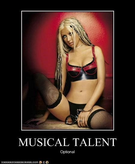 christina aguilera,demotivational,dirty,funny,Music,sexy
