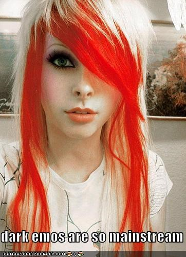 dark,dyed hair,is she real i have no idea,light,mannequin,red