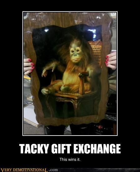 monkey Pure Awesome tacky gift wtf - 4485470208