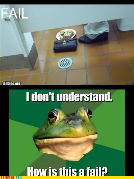 bathroom humor foul bachelor frog nom nom nom snacks snickers toilets