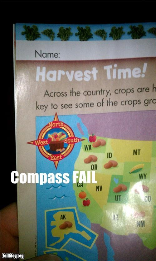 compass direction facepalm failboat g rated Maps - 4485639424