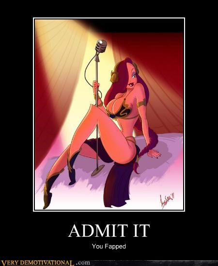 admit cartoons jessica rabbit leia Sexy Ladies