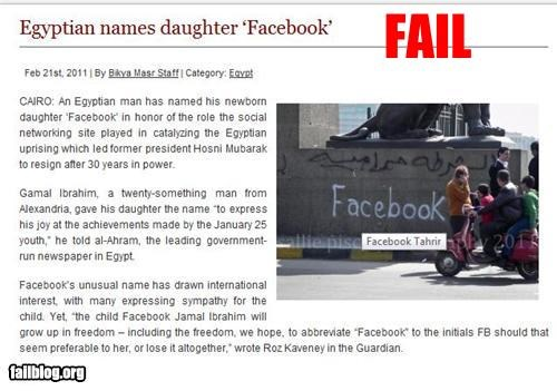 bad idea daughters facebook failboat funny names g rated names Probably bad News - 4486264832
