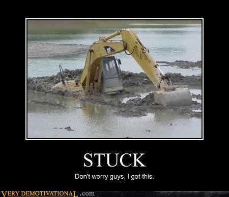 stuck bulldozer wtf bad idea - 4486484736