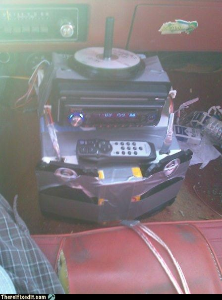 cars stereo too much kludge to handle wtf - 4486743808