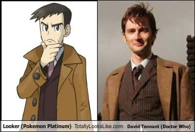 anime David Tennant doctor who looker Pokémon