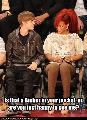 Is that a Bieber in your pocket, or are you just happy to see me?