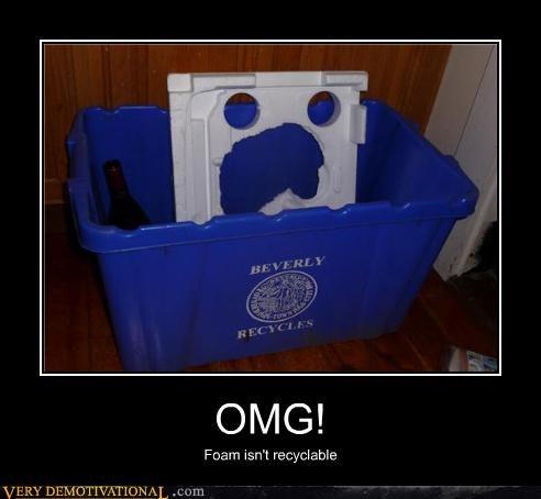 creepy face foam recycle - 4487675392