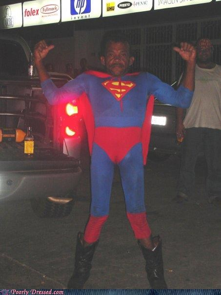 costume foreign little superman weird