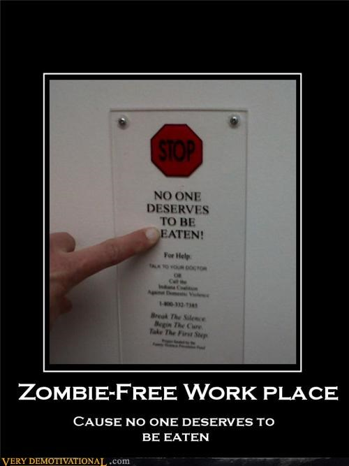 free safety work place zombie - 4487893760