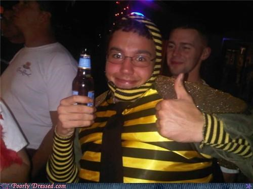 bar bee beer blue moon bottle costume