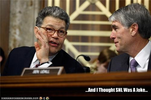 Al Franken joke saturday night live SNL - 4488179968
