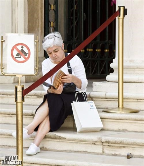 books disobedience old people signs warning - 4488410112