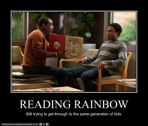 actor celeb demotivational Donald glover funny levar burton