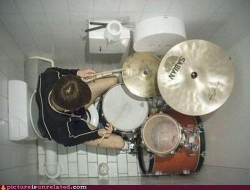 bathroom drums Music tone shaping wtf - 4488962560